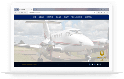 Old Executive Air Website